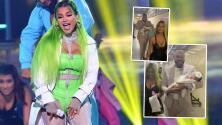 """""""Con un chupón de joyería"""": La bebé de Natti Natasha se roba el show de Premios Juventud"""
