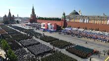Rusia celebra los 75 años de la victoria frente a los nazis en medio de la pandemia y antes de un crucial referéndum  (Fotos)