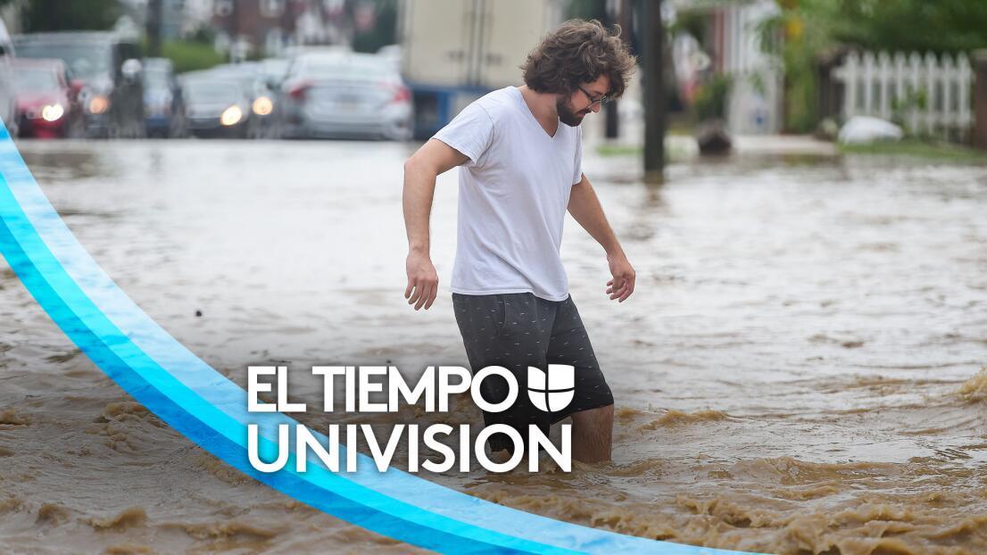 Lluvias y riesgo de inundaciones en el norte de California