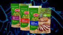 Confirman caso de listeria vinculado a productos de pollo listos para comer de Tyson