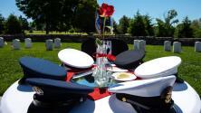Honran en Aurora la memoria de los militares fallecidos durante la conmemoración del Día de los Caídos
