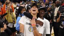 La Ciudad de los Vientos celebra por lo grande el primer título de la WNBA que logran las Chicago Sky