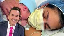 Bienvenido, baby León: Carlos Calderón confiesa que gritó cuando vio nacer y escuchó llorar a su hijo