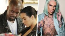 Rumoran que Kanye West le puso 'el cuerno' a Kim Kardashian con el maquillista Jeffree Star