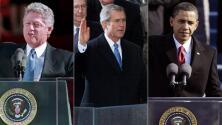 Anécdotas, tropiezos y datos curiosos en las tomas de posesión de los presidentes de EEUU