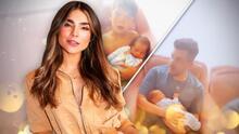 El hijo de Alejandra Espinoza ya sabe qué se siente tener un 'hermanito' en sus brazos