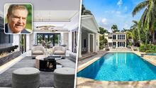 En fotos: la lujosa mansión que vendió Don Francisco en Miami (y que será demolida)
