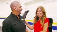 ¡Quiso volar! Paola Gutiérrez se convirtió en azafata por un día