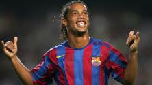 Los 5 mejores goles de Ronaldinho para festejar su cumpleaños 37