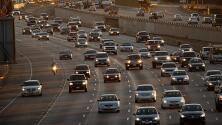 ¿Vías despejadas o congestionadas? Este es el reporte del tráfico vehicular en Los Ángeles la mañana de este viernes