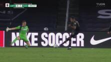 ¡Portero! Sebastián Jurado le quita el empate al LAFC