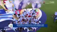 Argentina levanta copa YT