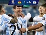 Con doblete y asistencia de Lionel Messi, Argentina golea a Bolivia