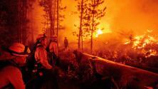 Evacuan hospital en South Lake Tahoe ante amenaza del incendio Caldor en California