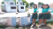 """""""Mami, lo logré; por fin terminé"""": Estudiante recién graduada lleva su diploma a la tumba de su madre"""