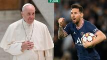 """Papa recibe jersey de Messi: """"No se te subieron los humos a la cabeza"""""""