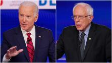 """Mientras Sanders defiende una """"revolución política"""", Biden dice que se debe trabajar sobre lo que ha funcionado"""