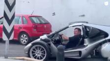 ¿Batman? ¡No! 'Piojo' Herrera presumió curioso automóvil