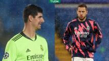 """Papá de Courtois critica a Hazard: """"Lo que hizo es poco profesional"""""""