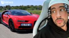 Esto fue lo que pagó Bad Bunny por su nuevo Bugatti Chiron