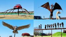 Disfruta gratis de esta exhibición de esculturas titánicas en Houston