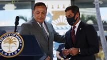 Comisionados de Miami buscan exponer las recientes controversias del jefe de la policía Art Acevedo