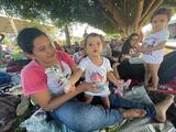 La nueva caravana de migrantes que salió del sur de México teme ser reprimida en cualquier momento