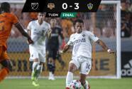 La bujía… Chicharito impulsó triunfo de LA Galaxy en Houston