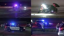 Muere un motociclista en accidente en la autopista 8 al norte de Houston