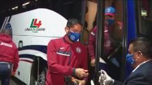 Así llegó Cruz Azul al Estadio Azteca para enfrentar a Pumas