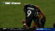 Jugadores de LA Galaxy le rinden tributo al recién fallecido Zizinho, padre de Jonathan dos Santos