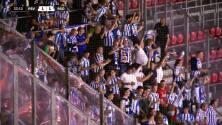 ¡GOL!  anota para Real Sociedad. Adnan Januzaj
