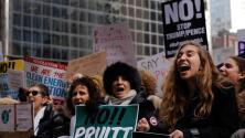 Cierran más de 1,000 comercios en Nueva York como protesta en contra de Trump