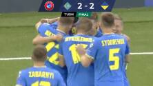 En un final de locura, Kazajistán igualó en casa con Ucrania