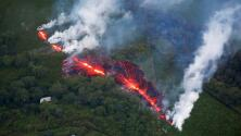 Esta es la decimoséptima fisura del volcán Kilauea que mantiene en vilo a Hawaii