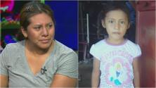 Madre hispana se entera en vivo dónde está su hija, quien fue separada en la frontera