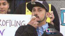 Inmigrantes separadas de sus familias protestan frente al Capitolio