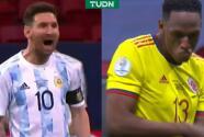 """Messi y la burla a Mina tras fallar su penal: """"¡Ahora baila!"""""""