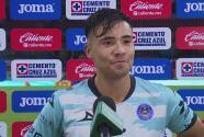 """Nico Díaz sobre su gol ante Cruz Azul: """"Ando con un poco de suerte"""""""