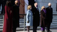 Con un Trump ausente, Obama, Bush y Clinton participan de la ofrenda floral en la Tumba del Soldado Desconocido
