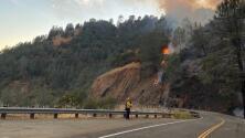 Incendio de maleza cerca de Auburn provoca la evacuación de área recreativa