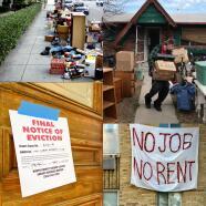 Miedo y preocupación por el fin de la moratoria mientras en California las cosas son diferentes