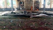 En fotos: Explosión deja decenas de víctimas en una mezquita en el norte de Afganistán
