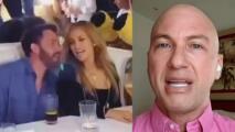 """Testigo en la fiesta de JLo da detalles de su gran celebración y """"el detallazo"""" que tuvo con ella Ben Affleck"""