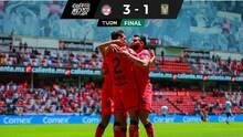 Toluca, sobre el final, hizo la diablura y venció al Tigres del 'Piojo' Herrera