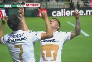 ¡Cuando Pumas más estaba sufriendo! Marco García le hace el 1-2 a León
