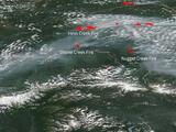 """Más de 100 incendios """"sin precedentes"""" han afectado el Ártico desde junio"""