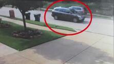 Revelan fotografía del auto que podría estar relacionado con el homicidio de un hombre frente a su casa en Frisco