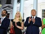 En una convención dominada por la familia, nadie describió a un Trump padre, esposo, suegro u hogareño