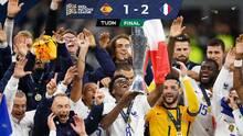 Con gran polémica, Mbappé y Benzema dan el título de Nations League a Francia